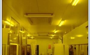 クリーンルーム天井のフィルターカバーについて