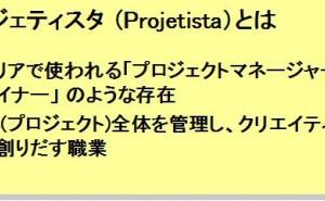 プロジェティスタ(多能工リーダー)がものづくりを変革