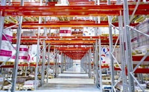 保管効率向上のコツ(その2) 倉庫容積率と作業生産性